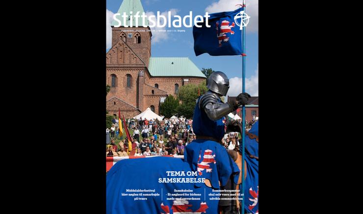 Billede af forsiden af Stiftsbladet, februar 2021