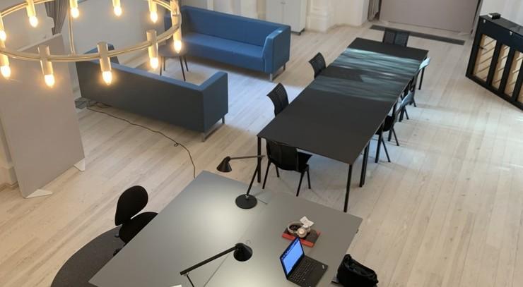 Gråbrødre kapel, med adresse på Store Gråbrødrestræde 12, er omdannet til arbejds- og mødested for Himmelske Dage 2022.