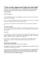 Interview om temaet for Himmelske Dage 2022