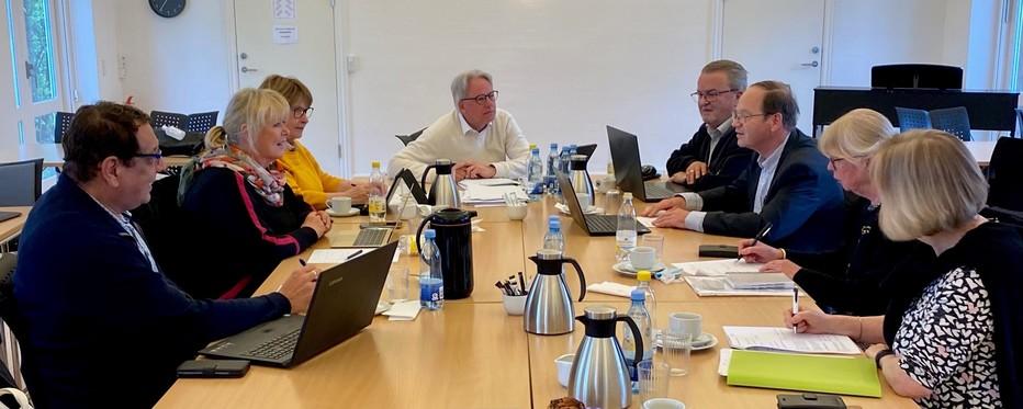 Billede af møde i Køge Provstiudvalg